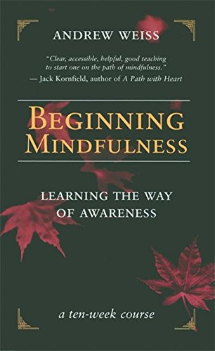 Beginning Mindfulness: Learning the Way of Awareness von New World Library