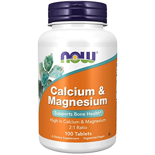 NOW Foods Calcium & Magnesium, 100 tablets von Now Foods
