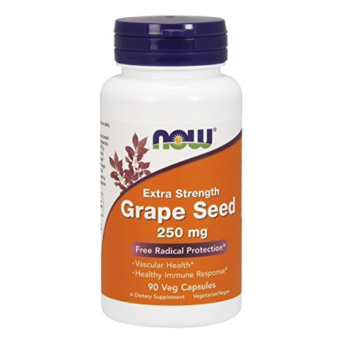 Now Foods, Grape Seed 250mg OPC Traubenkernextrakt Kapseln von Now Foods