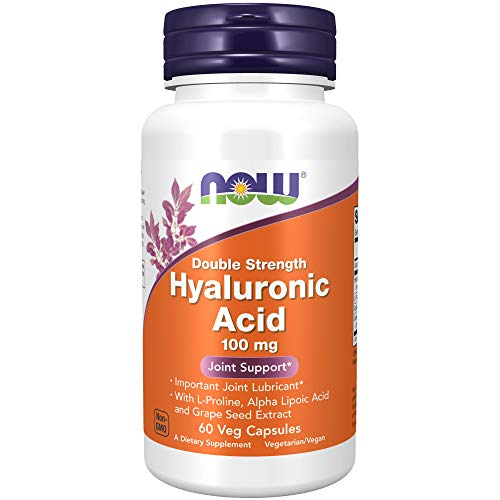 NOW Foods NF Hyaluronic Acid 100 mg, 60 vcapsules, 100 g von Now Foods