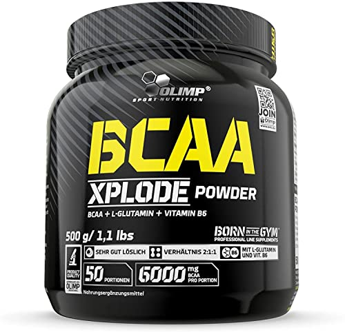 OLIMP BCAA Xplode Powder Cola, 1er Pack (1 x 500 g) von Olimp