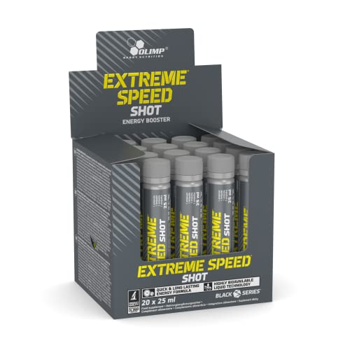 Olimp Extreme Speed Shot 20 x 25ml, 1er Pack (1 x 500 ml Packung) von Olimp