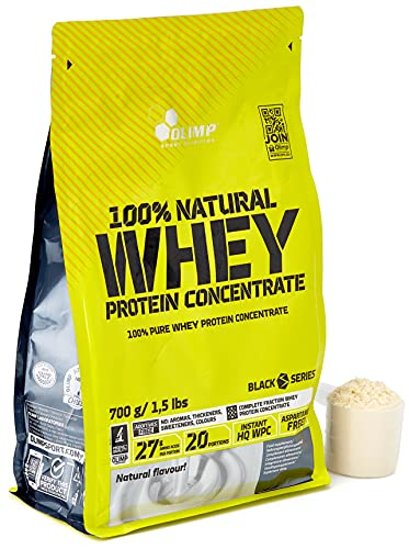 Olimp Natural Whey Protein Concentrate 100% Neutral, 1er Pack (1 x 700 g) von Olimp