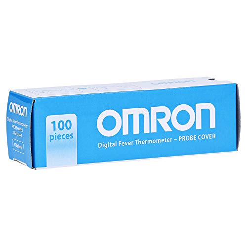 Omron Probe Pencil Effect Set 100 Decken für Thermometer rectaux von Omron