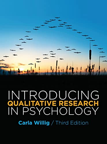 Introducing Qualitative Research in Psychology Third Edition von Open University Press