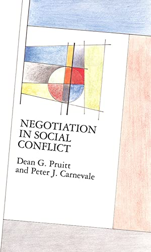 Negotiation In Social Conflict (Mapping Social Psychology Series) von Open University Press