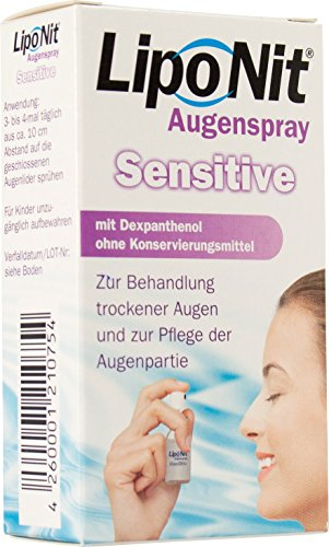 Liponit Augenspray Sensitive, 1er Pack (1 x 10 ml) von Optima