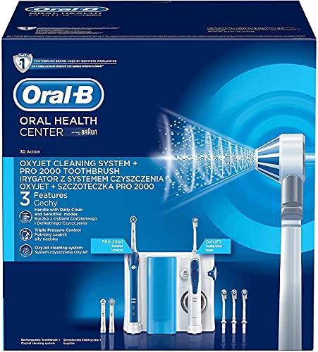 Oral-B Mundpflege Center 2000 plus OxyJet Munddusche von Oral-B