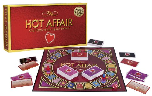 Orion 776491 Pärchen-Brettspiel 'A hot affair' von Orion