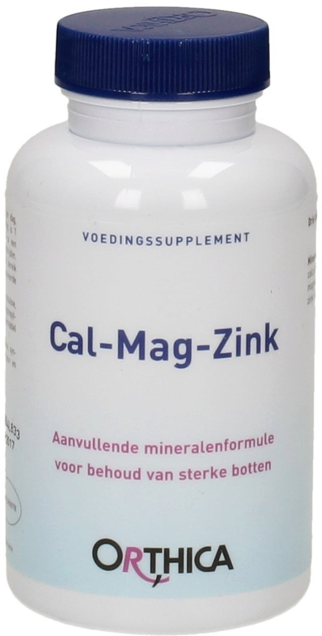 Orthica Cal-Mag-Zink - 180 Tabletten von Orthica