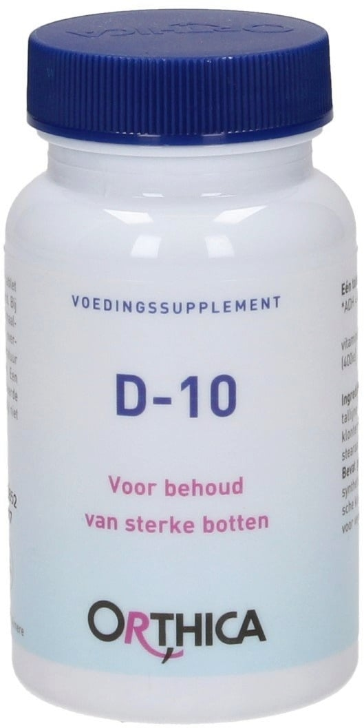 Orthica D-10 - 120 Tabletten von Orthica