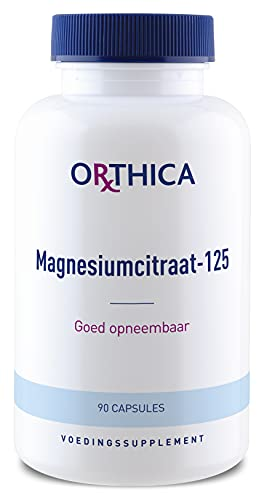 Orthica Magnesiumcitraat-125 90 Kapseln von Orthica