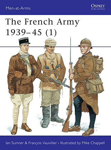 The French Army 1939-45 (1) (Men-at-Arms, Band 315) von Osprey Publishing