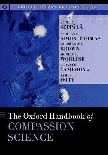 The Oxford Handbook of Compassion Science (Oxford Library of Psychology) von PAPERBACKSHOP UK IMPORT