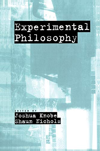 Experimental Philosophy von Oxford University Press, USA