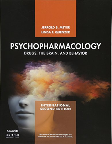 Psychopharmacology: Drugs, the Brain, and Behavior von Oxford University Press Inc