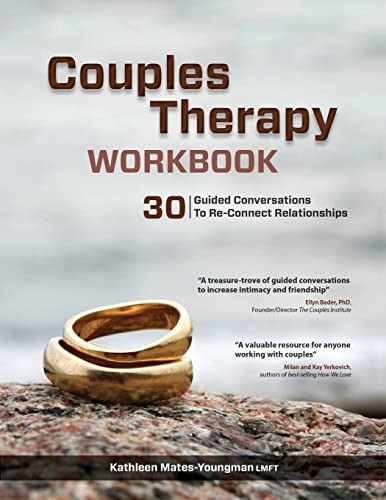 Couples Therapy Workbook: 30 Guided Conversations to Re-Connect Relationships von PESI Publishing & Media