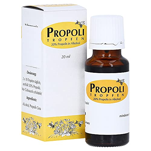 Propoli Tropfen in Alkohol 20 ml von Health Care Products Vertriebs