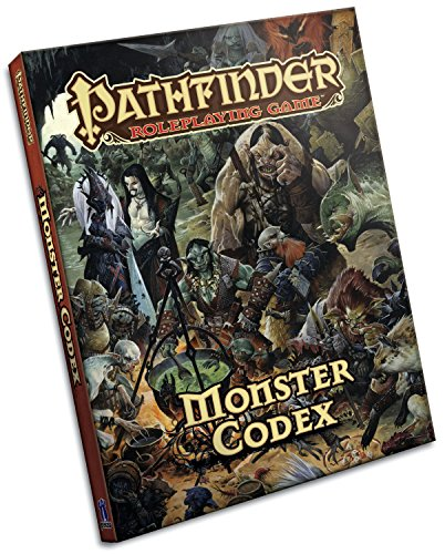 Pathfinder Roleplaying Game: Monster Codex von Paizo Publishing, LLC