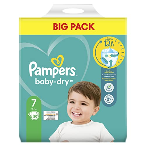 Pampers Baby Dry Gr.7 Extra Large 15+kg Doppelpack von Pampers