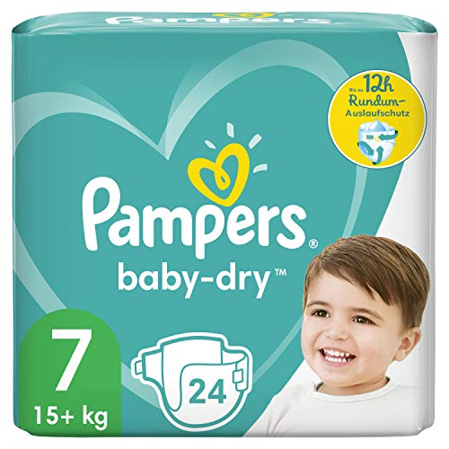 Pampers Baby Dry Gr.7 Extra Large 15+kg Einzelpack von Pampers