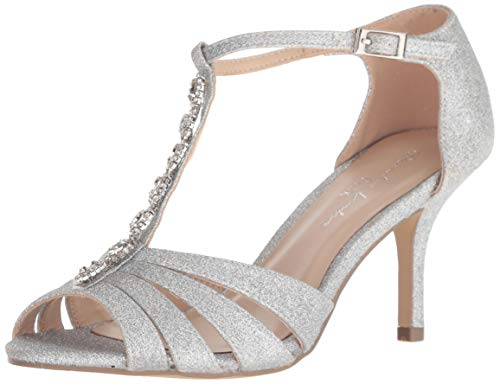 Paradox London Pink Damen Sibel Pumps, Silber, 36 EU von Paradox London Pink
