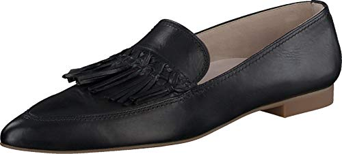 Paul Green Damen SUPER Soft Slipper, Damen Mokassins,Businessschuhe,Schlupfschuhe,Slip-ons,Ladies,Women's,Halbschuhe,Schwarz (068),38 EU / 5 UK von Paul Green