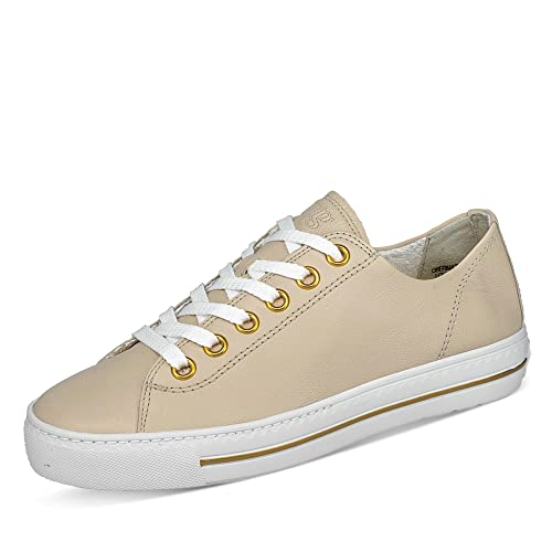 Paul Green Damen SUPER Soft Halbschuhe, Damen Low-Top Sneaker,Ladies,Women's,schnürschuhe,schnürer,Halbschuhe,Plateausohle,Beige (288),37 EU / 4 UK von Paul Green