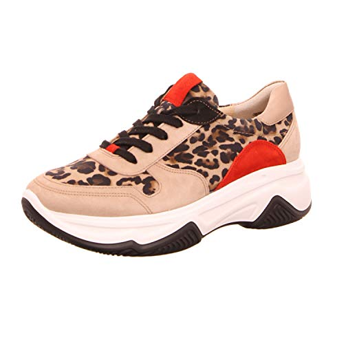 Paul Green 4764 Damen Sneakers Leopard, EU 38 von Paul Green