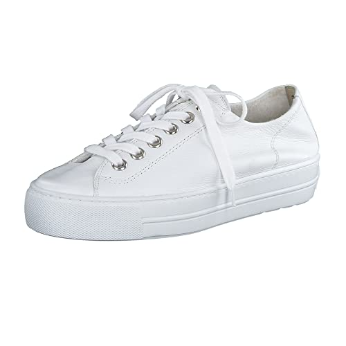 Paul Green Damen SUPER Soft Halbschuhe, Damen Low-Top Sneaker,Halbschuhe,straßenschuhe,Freizeitschuhe,Plateausohle,weiblich,Weiß (018),40 EU / 6.5 UK von Paul Green