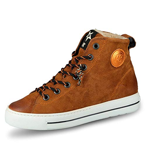 Paul Green 4842 Damen Sneakers Braun/Orange, EU 37 von Paul Green