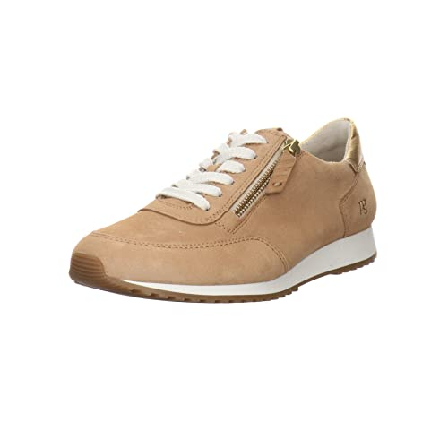 Paul Green Damen , Damen Low-Top Sneaker,freizeitschuhe,weiblich,ladies,women's,woman,schnürschuhe,schnürer,halbschuhe,lady,Beige (038),37 EU / 4 UK von Paul Green