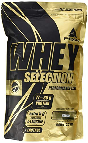 PEAK Whey Selection Banana 1000g von PEAK