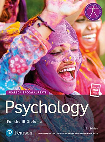 Pearson Psychology for the IB Diploma (Pearson International Baccalaureate Diploma: International Editions) von Pearson Education Limited