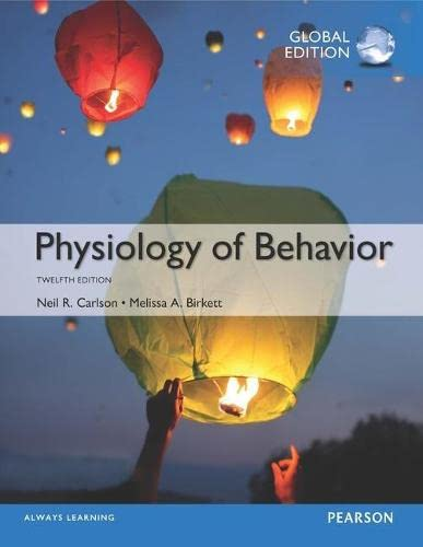 Physiology of Behavior plus MyPsychLab with Pearson eText, Global Edition von Pearson Education Limited