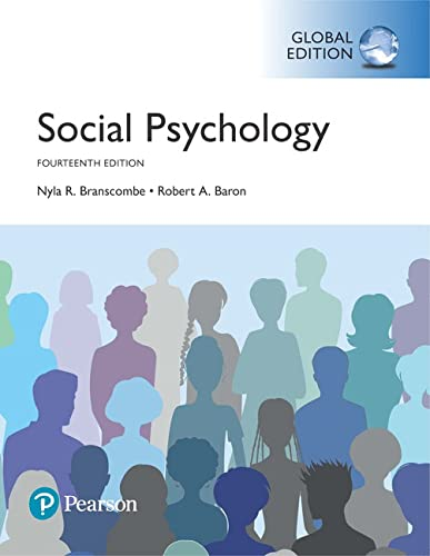Social Psychology, Global Edition von Pearson Education Limited