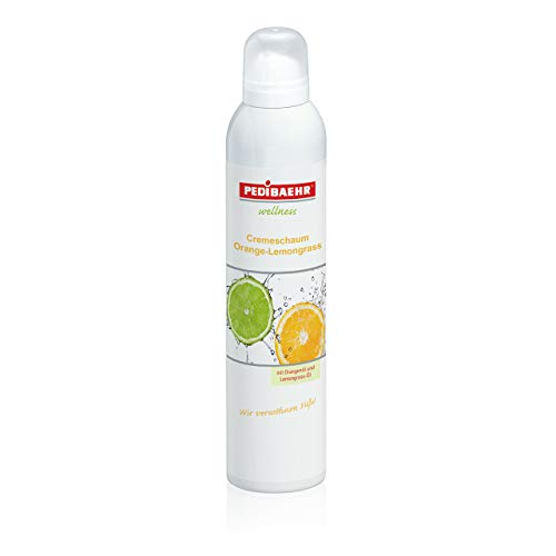 Wellness Cremeschaum Orange- Lemongrass PediBaehr, 125 ml von PediBaehr