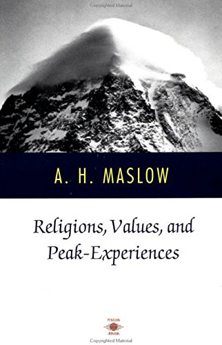 Religions, Values, and Peak-Experiences (Compass) von Penguin Books