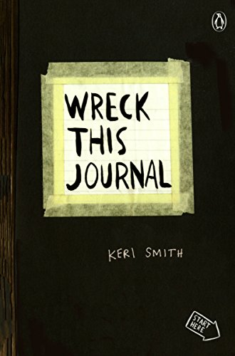 Wreck This Journal (Black) Expanded Ed.: To Create Is to Destroy von Penguin Books