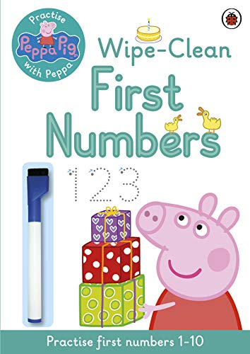 Peppa Pig: Practise with Peppa: Wipe-Clean First Numbers von Penguin Books Ltd (UK)