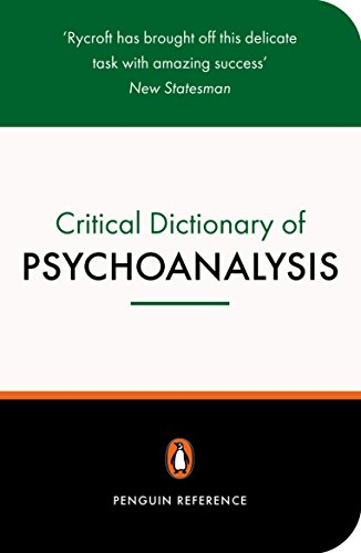 A Critical Dictionary of Psychoanalysis (Reference) von Penguin