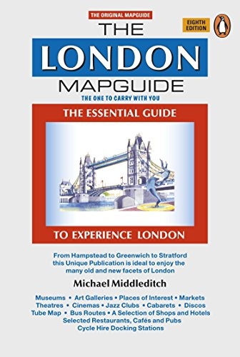The London Mapguide (8th Edition) (Mapguides, Penguin) von Penguin Books Ltd
