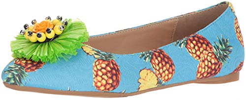 Penny Loves Kenny Damen Ballerinas Aurora, Blau (Blaue Ananas), 42 EU von Penny Loves Kenny