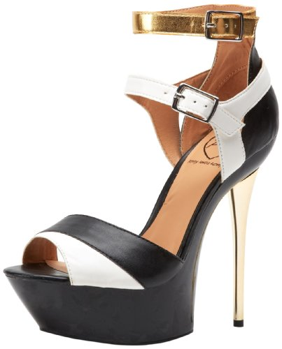 Penny Loves Kenny Damen Buffy Plateau Pumps, Schwarz (schwarz), 41 EU von Penny Loves Kenny