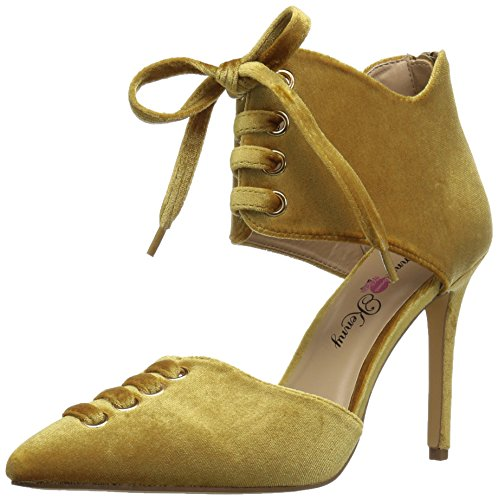 Penny Loves Kenny Women's Mince Dress Pump, Gold, 9 M US von Penny Loves Kenny