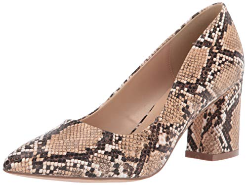 Penny Loves Kenny Damen Venus Pumps, Natural Faux Snake, 38 EU von Penny Loves Kenny