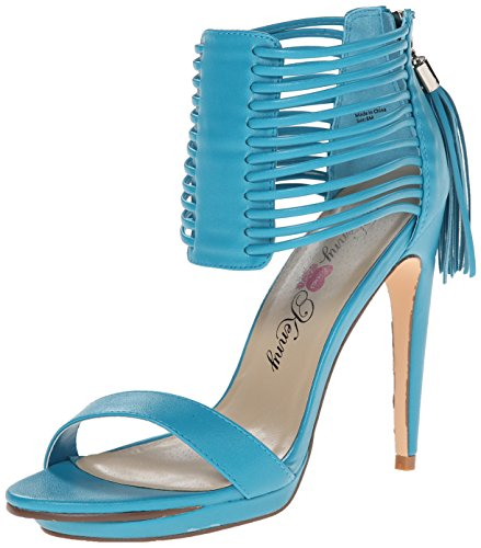 Penny Loves Kenny Damen Tame Kleid Sandalen, Blau (Turquoise Matte), 37 EU von Penny Loves Kenny