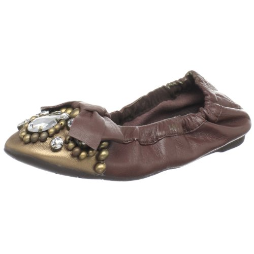 Penny Loves Kenny Damen Treasure Ballerinas, Braun (Braun/bronzefarben), 36 EU von Penny Loves Kenny