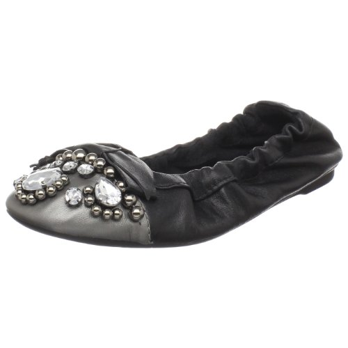 Penny Loves Kenny Damen Treasure Ballerinas, Schwarz (Schwarzes Zinn), 35.5 EU von Penny Loves Kenny
