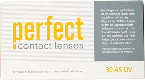 Perfect 30 AS UV Monatslinsen weich, 6 Stück von Perfect